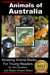 Animals of Australia cover