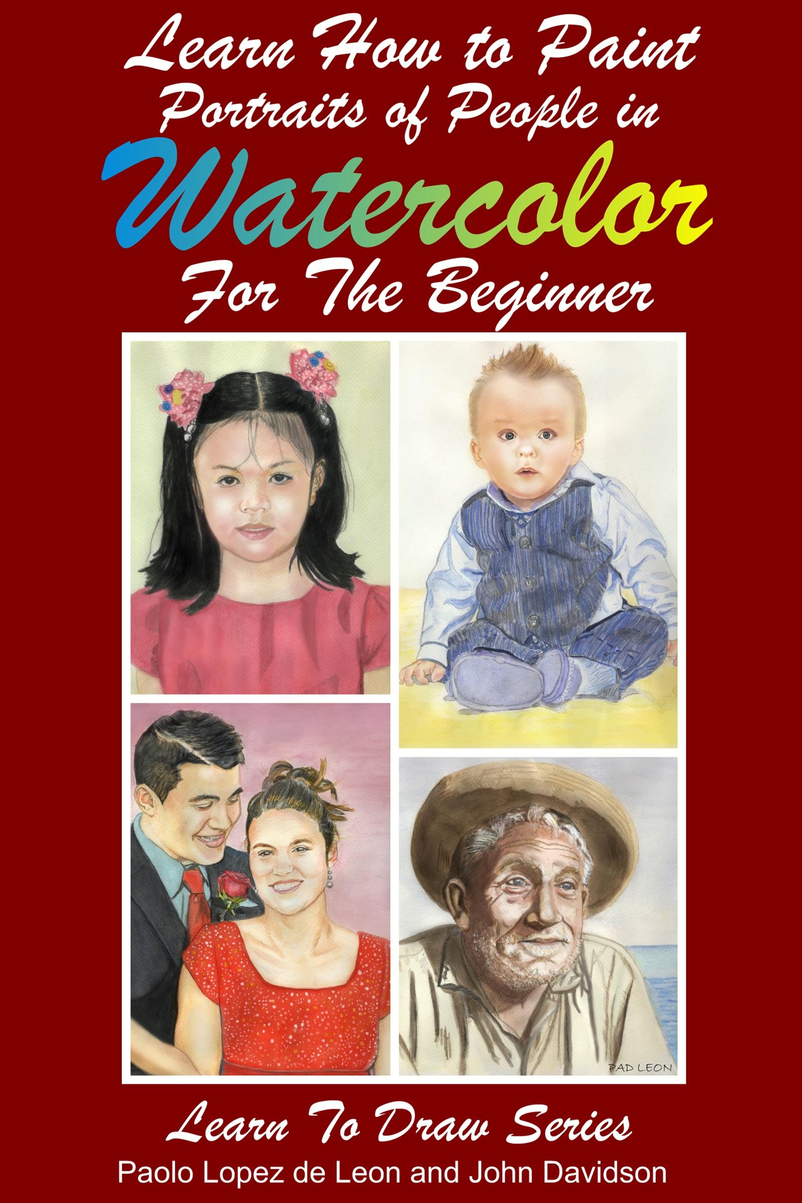 Watercolor People beginner